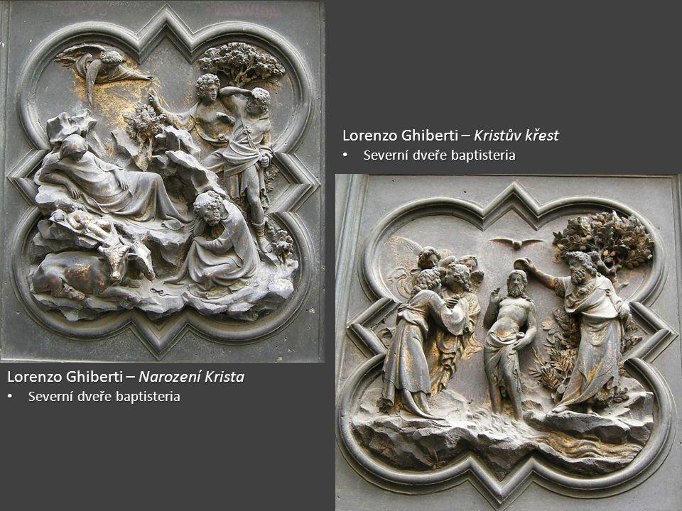 Lorenzo Ghiberti – Kristův křest