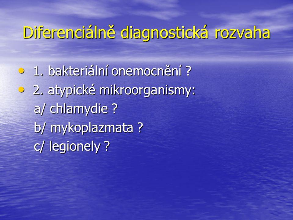 Diferenciálně diagnostická rozvaha