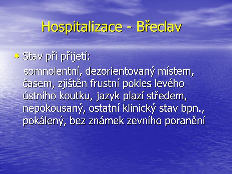 Hospitalizace - Břeclav