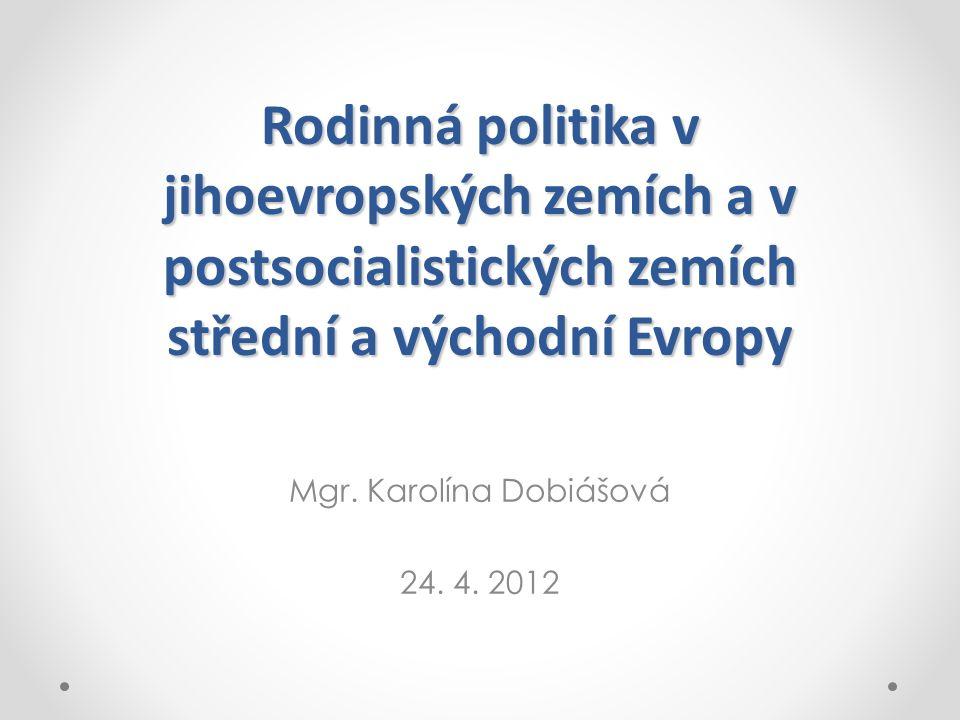 Mgr. Karolína Dobiášová 24. 4. 2012