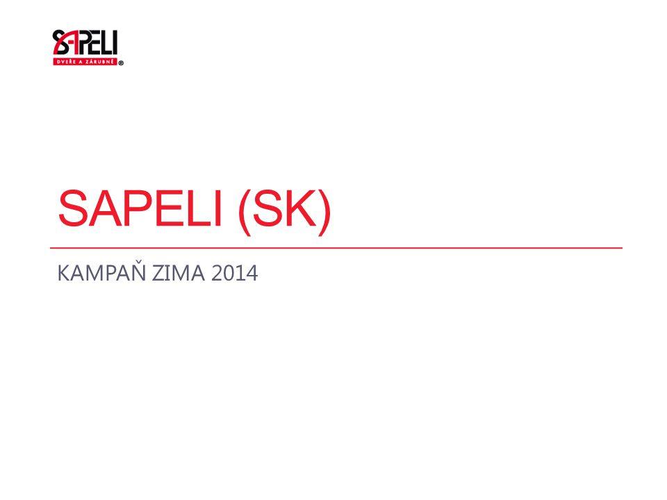 SAPELI (SK) KAMPAŇ ZIMA 2014