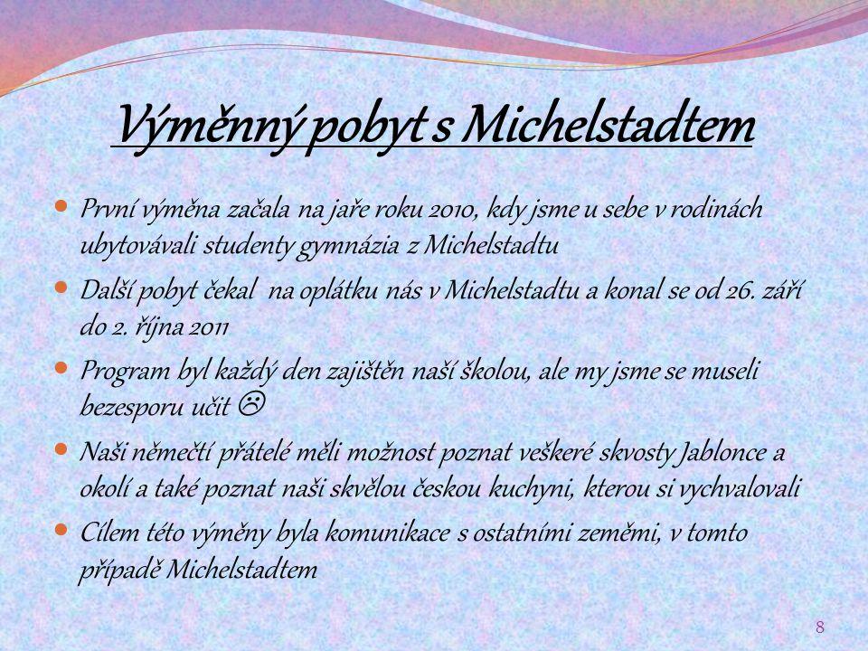 Výměnný pobyt s Michelstadtem