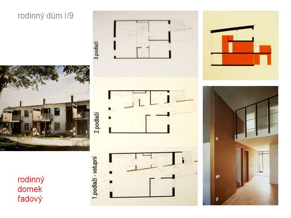 rodinný dům I/9 rodinný domek řadový