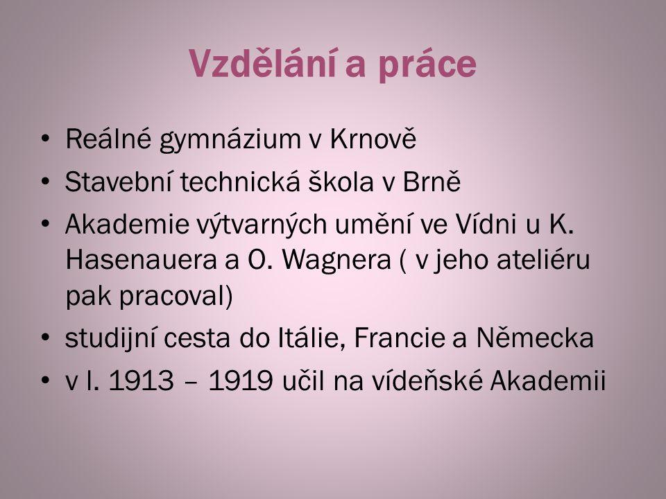 Vzdělání a práce Reálné gymnázium v Krnově