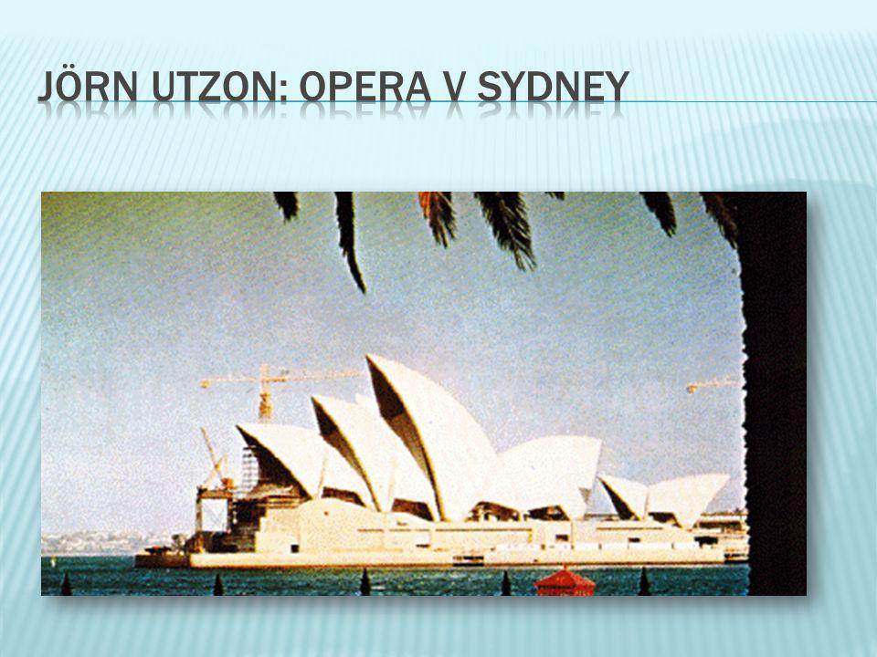 jörn utzon: opera v sydney
