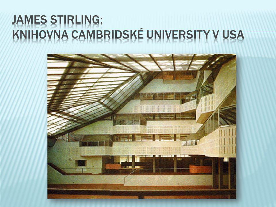 james stirling: knihovna cambridské university v USA