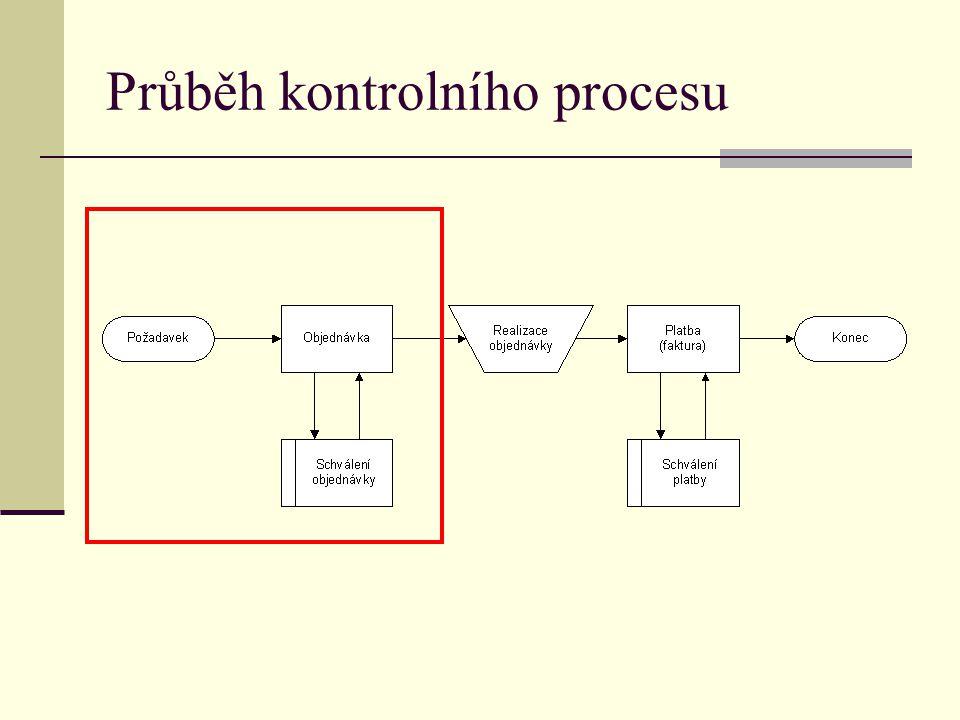 Průběh kontrolního procesu