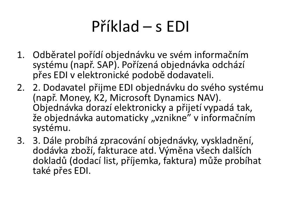 Příklad – s EDI