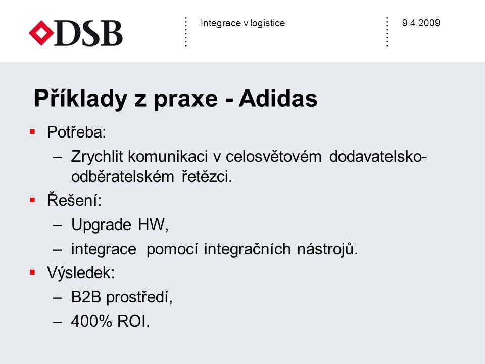 Příklady z praxe - Adidas