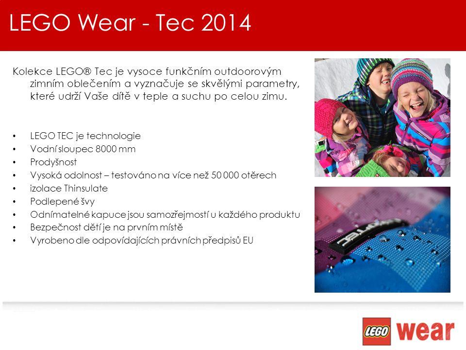 LEGO Wear - Tec 2014