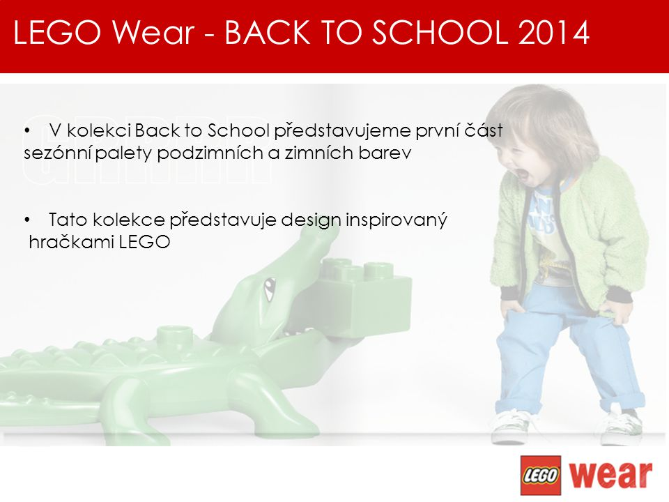 LEGO Wear - BACK TO SCHOOL 2014