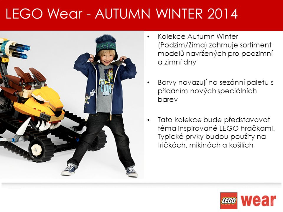 LEGO Wear - AUTUMN WINTER 2014