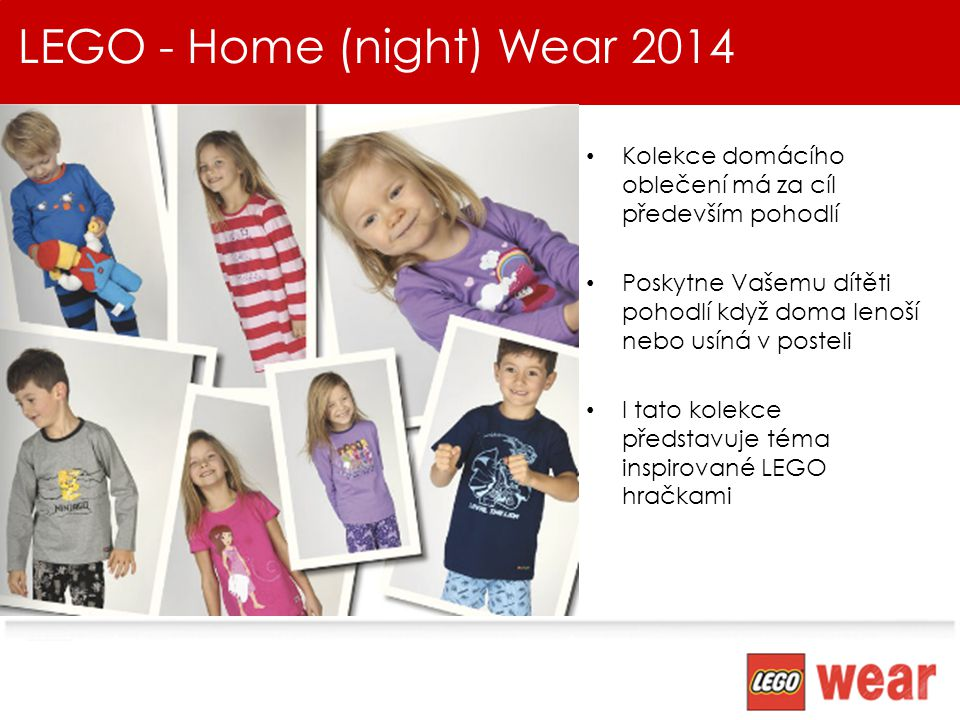 LEGO - Home (night) Wear 2014