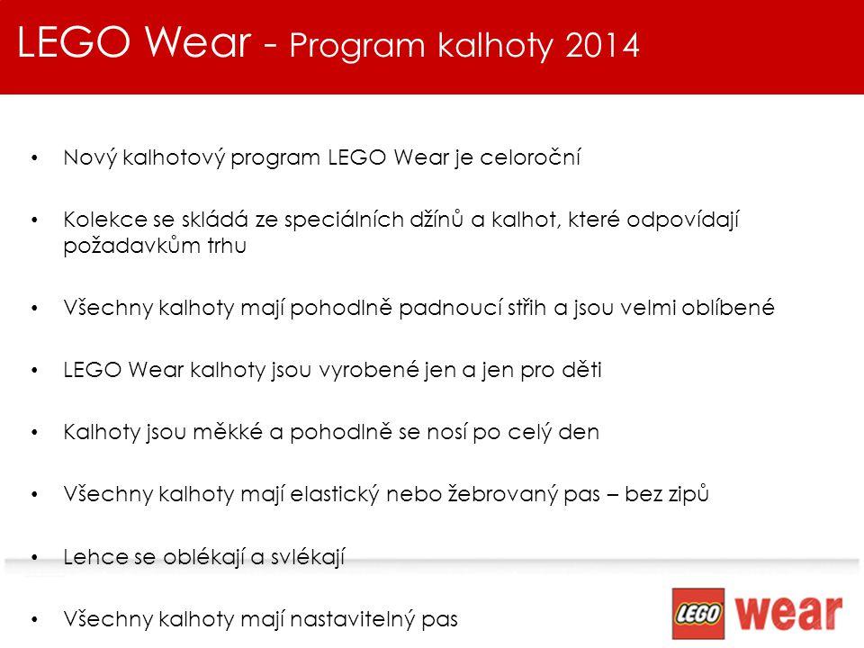 LEGO Wear - Program kalhoty 2014