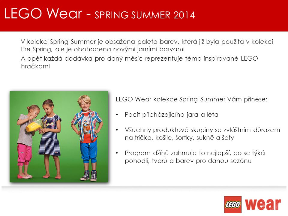 LEGO Wear - SPRING SUMMER 2014
