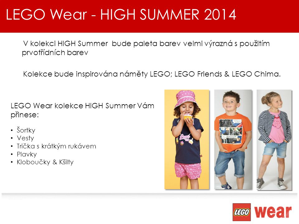 LEGO Wear - HIGH SUMMER 2014