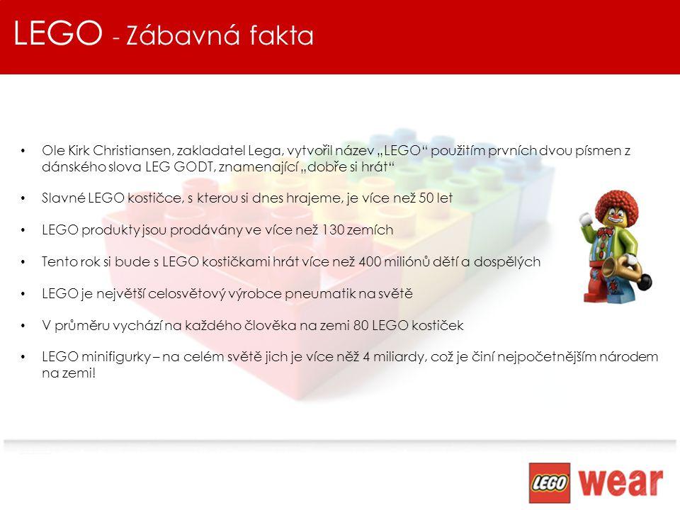 LEGO - Zábavná fakta