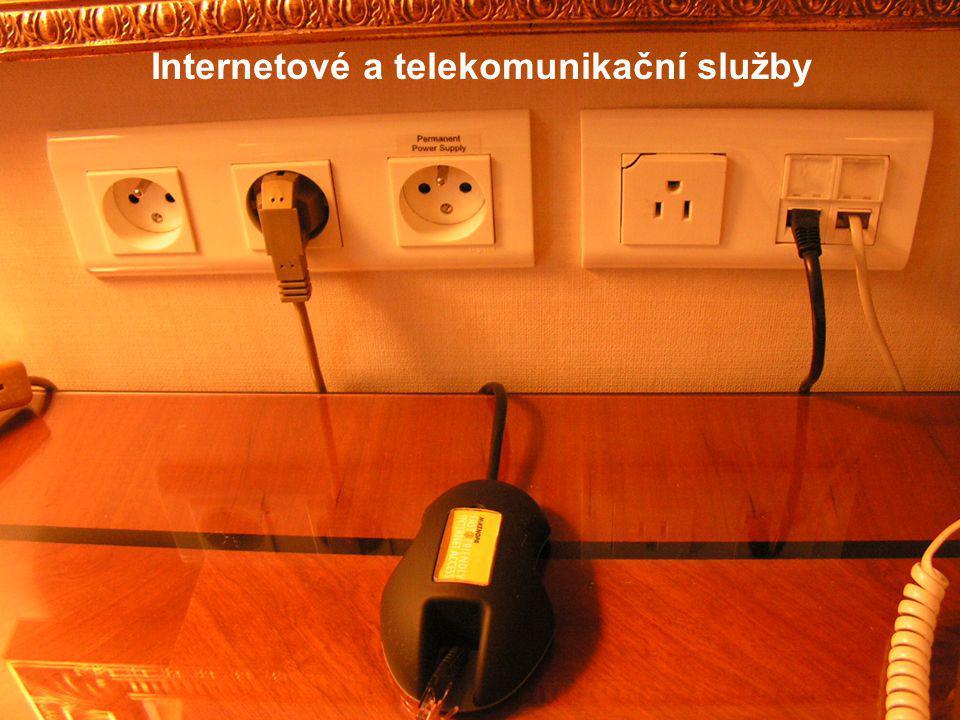 Internetové a telekomunikační služby