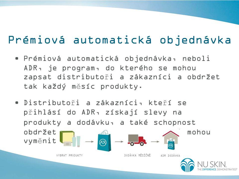Prémiová automatická objednávka