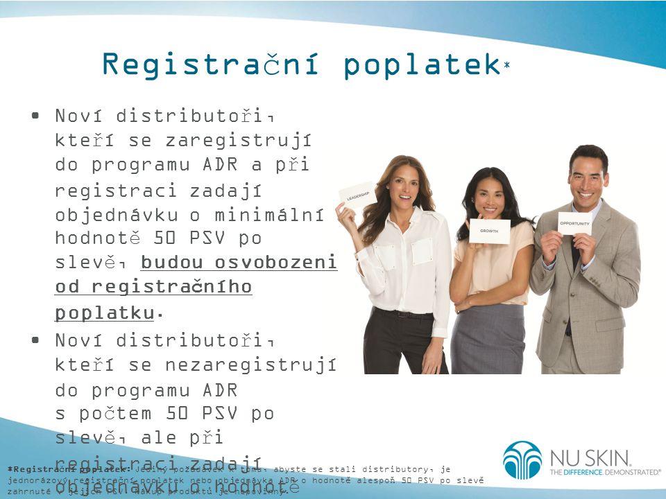 Registrační poplatek*