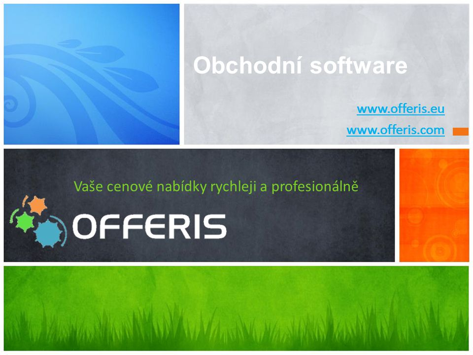 Vaše cenové nabídky rychleji a profesionálně
