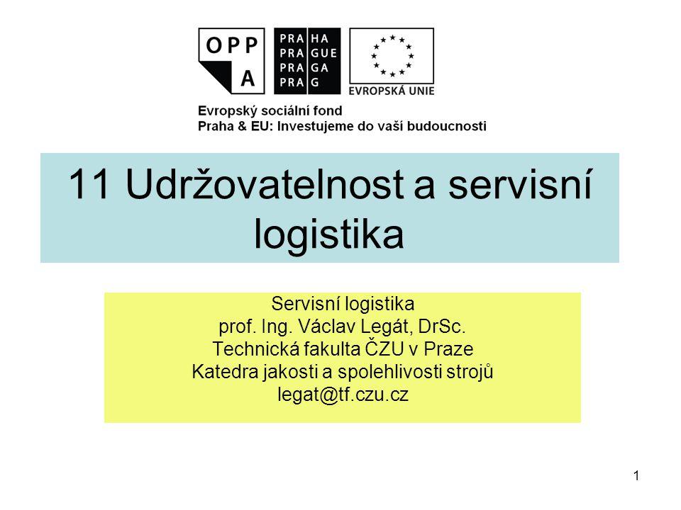 11 Udržovatelnost a servisní logistika