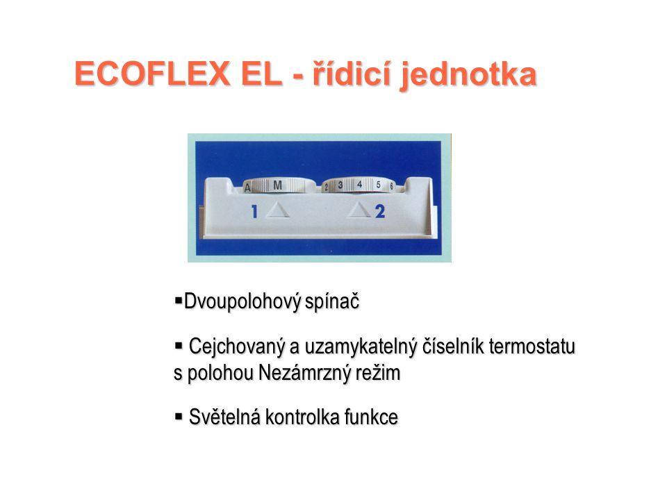 ECOFLEX EL - řídicí jednotka