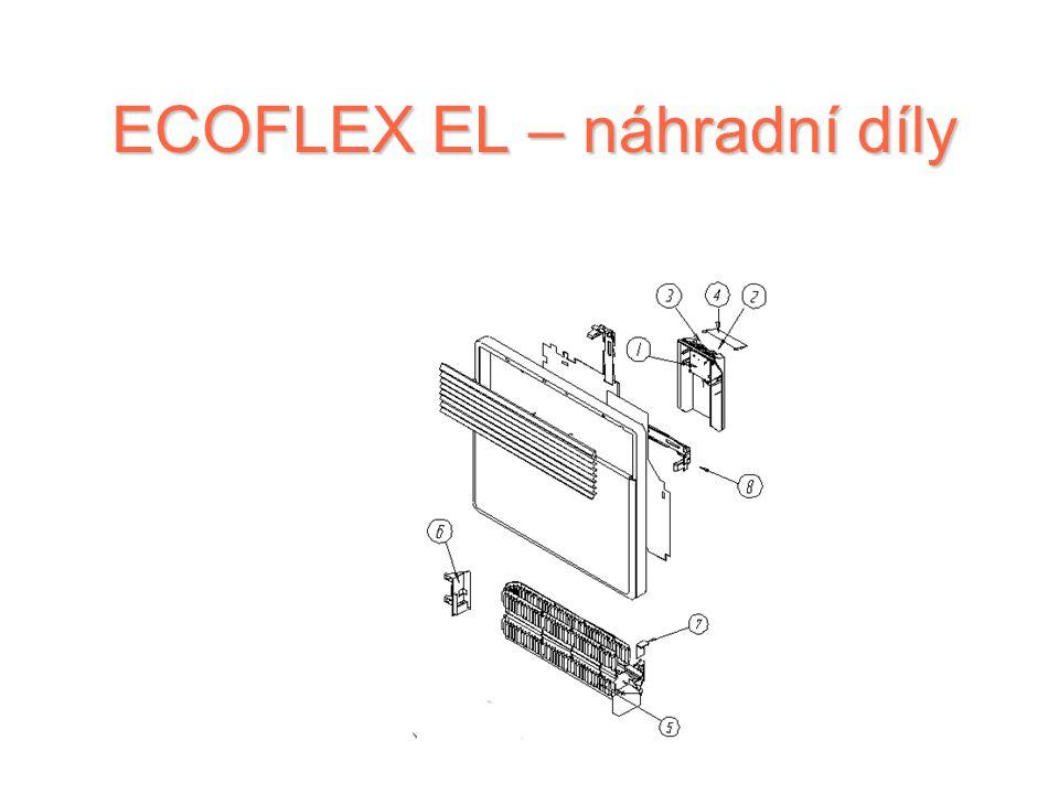 ECOFLEX EL – náhradní díly