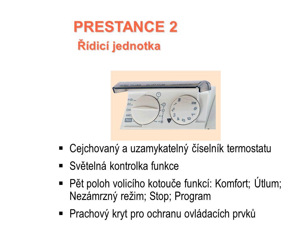 PRESTANCE 2 Řídicí jednotka