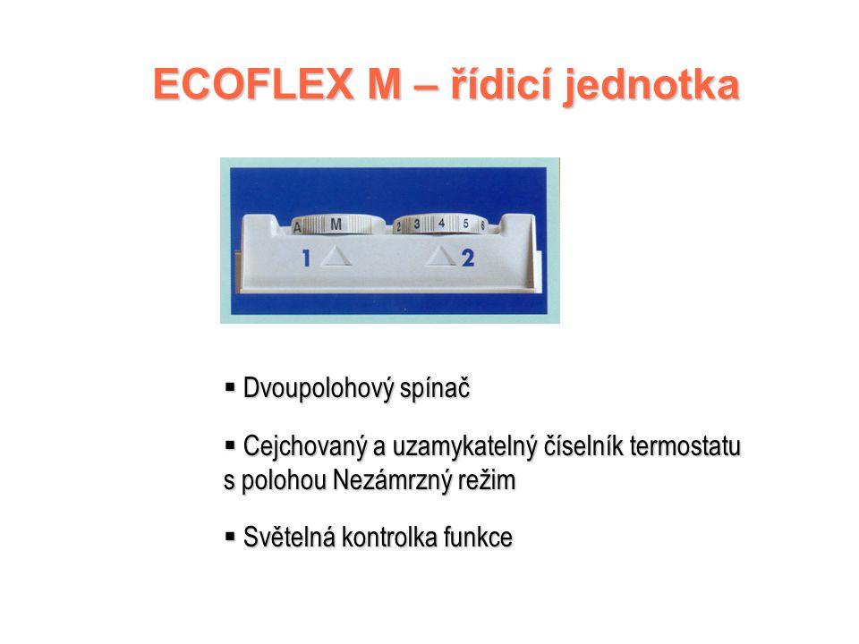 ECOFLEX M – řídicí jednotka