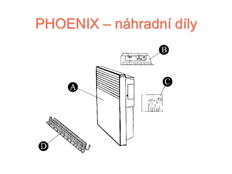 PHOENIX – náhradní díly