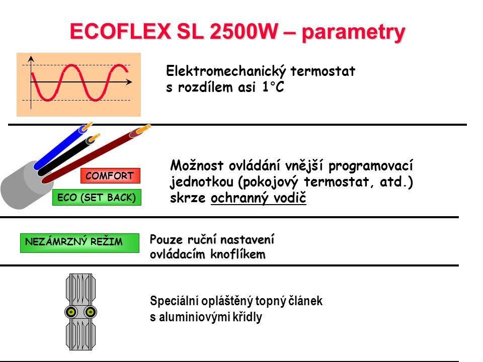ECOFLEX SL 2500W – parametry
