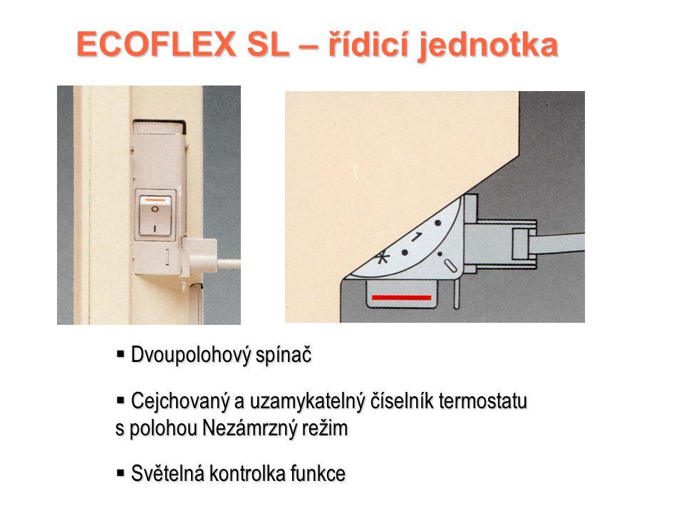 ECOFLEX SL – řídicí jednotka