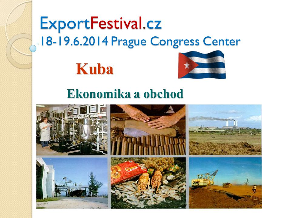ExportFestival.cz 18-19.6.2014 Prague Congress Center