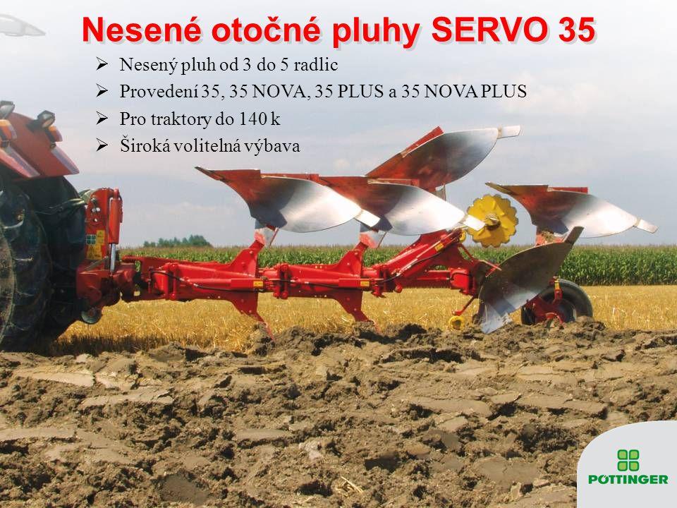 Nesené otočné pluhy SERVO 35