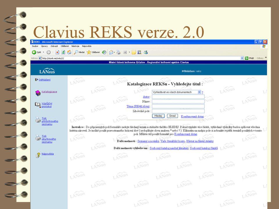 Clavius REKS verze. 2.0 Pardubice 4.4.2007