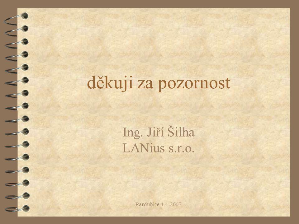 Ing. Jiří Šilha LANius s.r.o.
