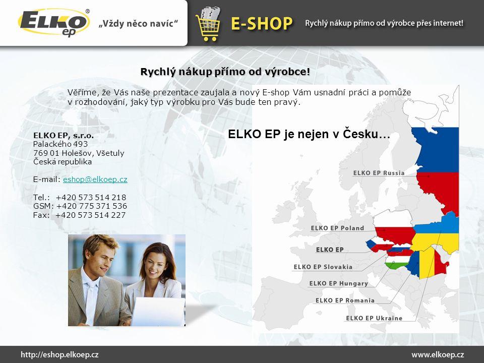 ELKO EP je nejen v Česku…