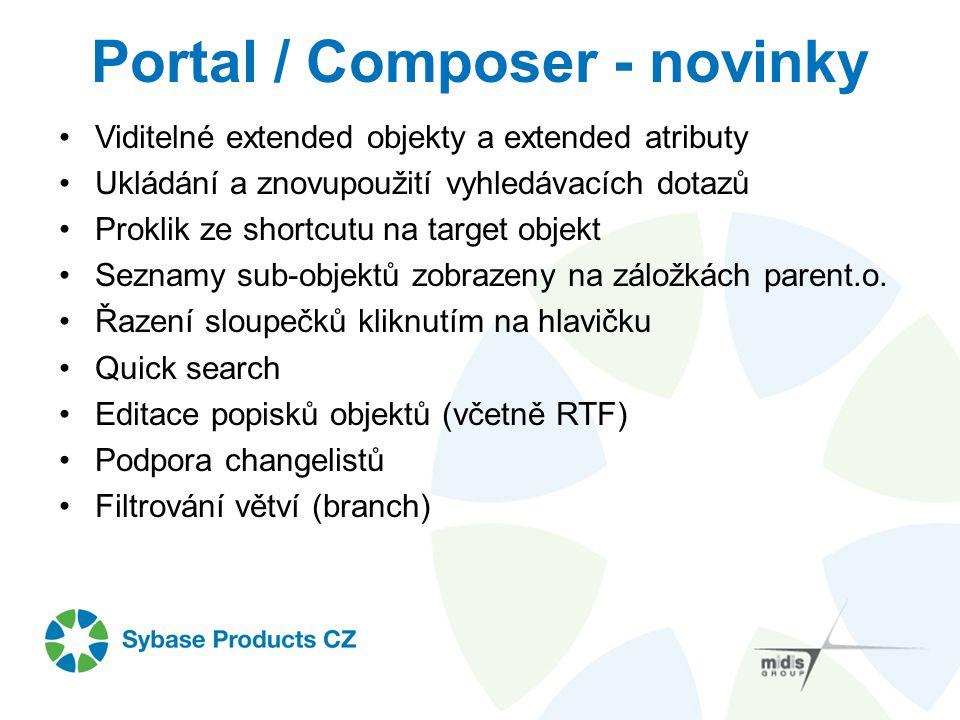 Portal / Composer - novinky