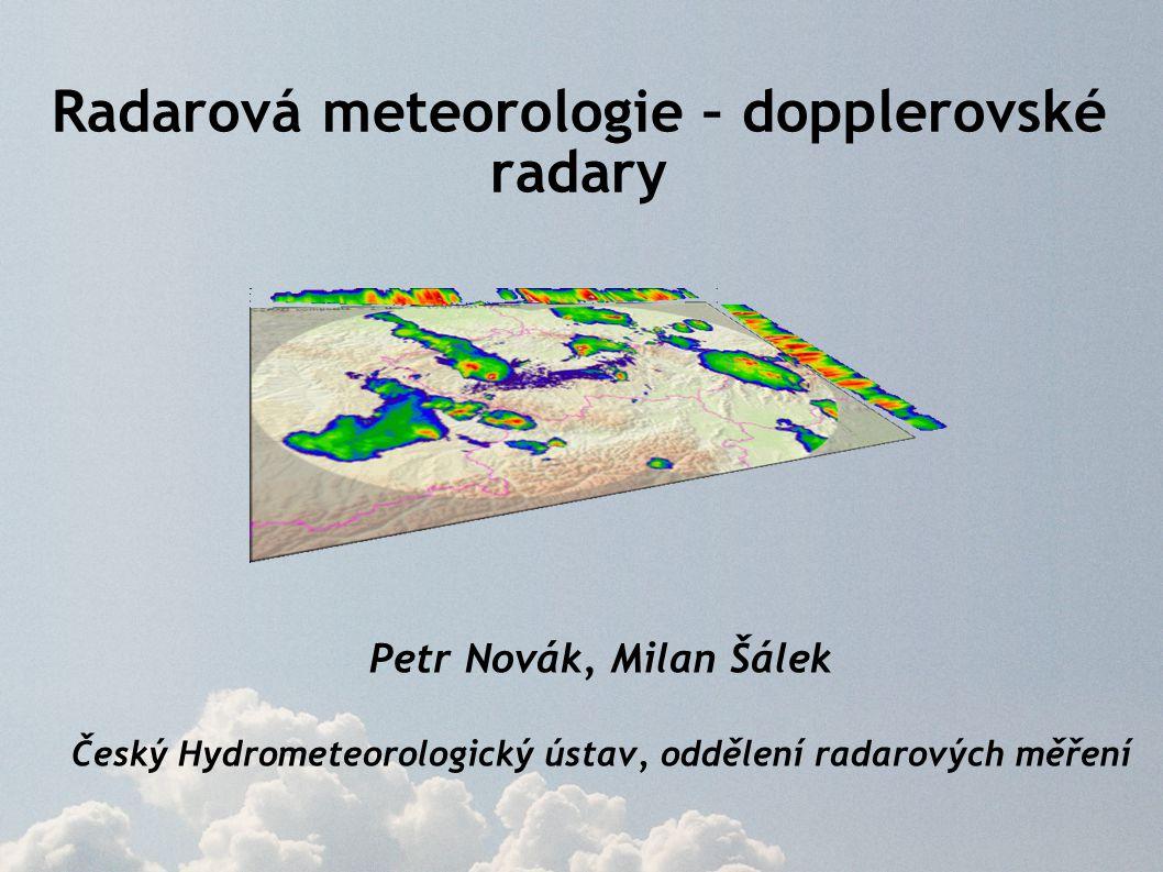 Radarová meteorologie – dopplerovské radary