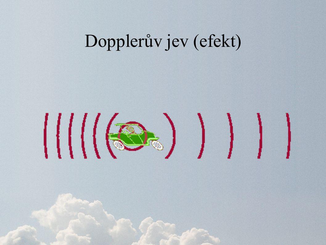 Dopplerův jev (efekt)