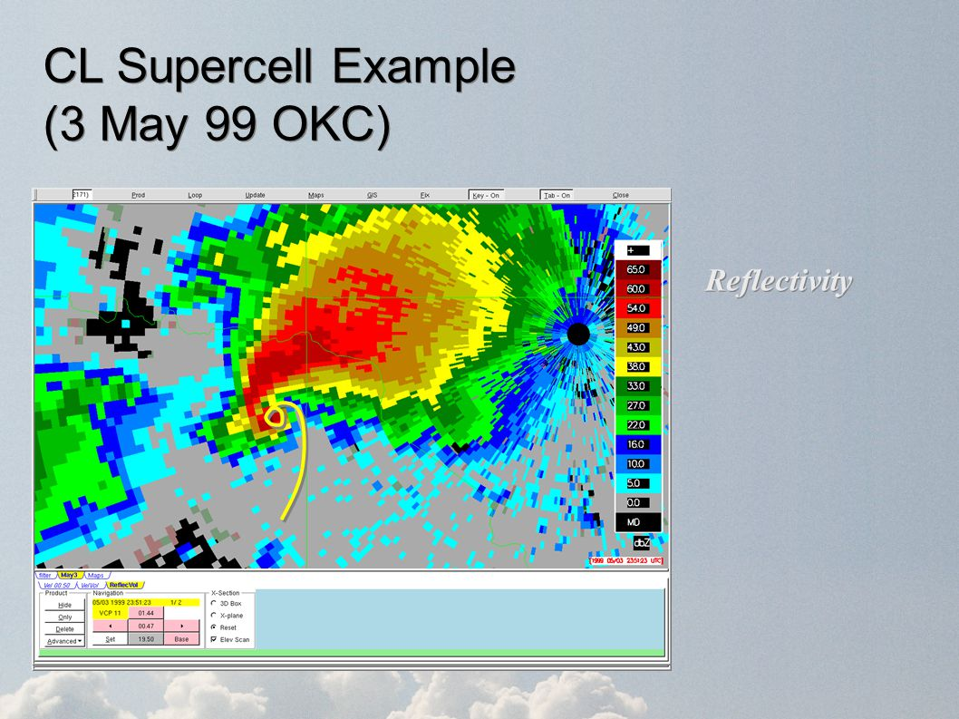 CL Supercell Example (3 May 99 OKC)