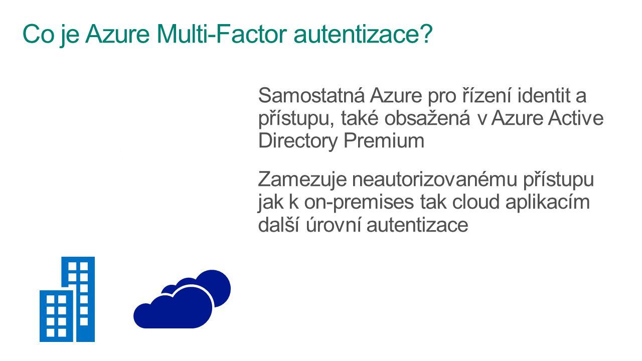 Co je Azure Multi-Factor autentizace