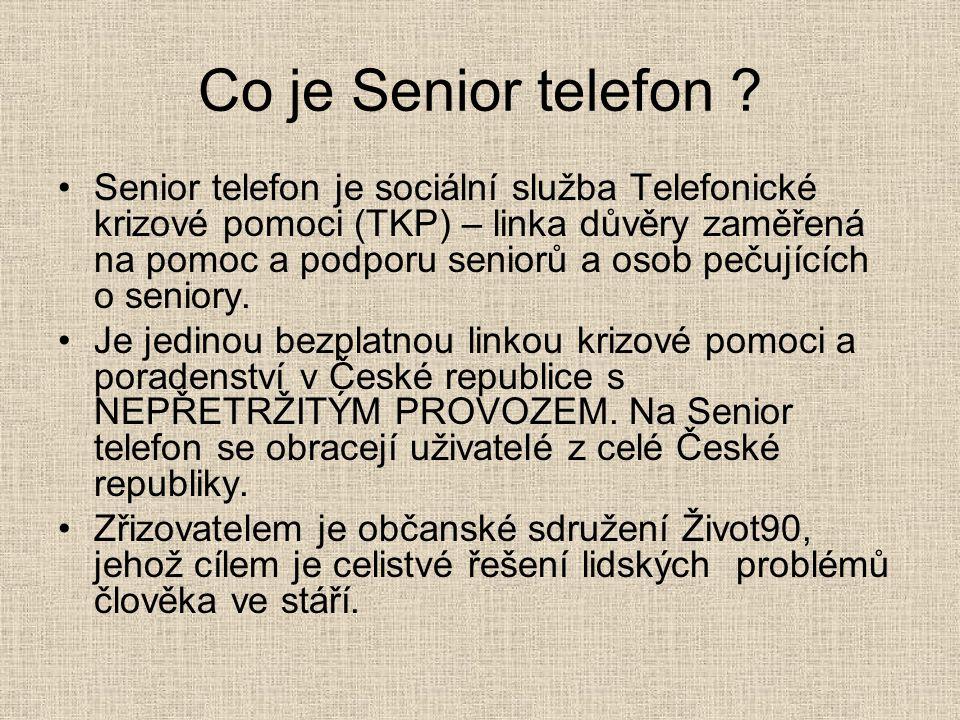 Co je Senior telefon