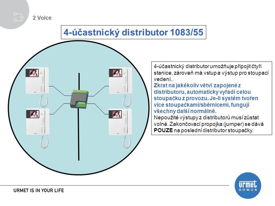 4-účastnický distributor 1083/55