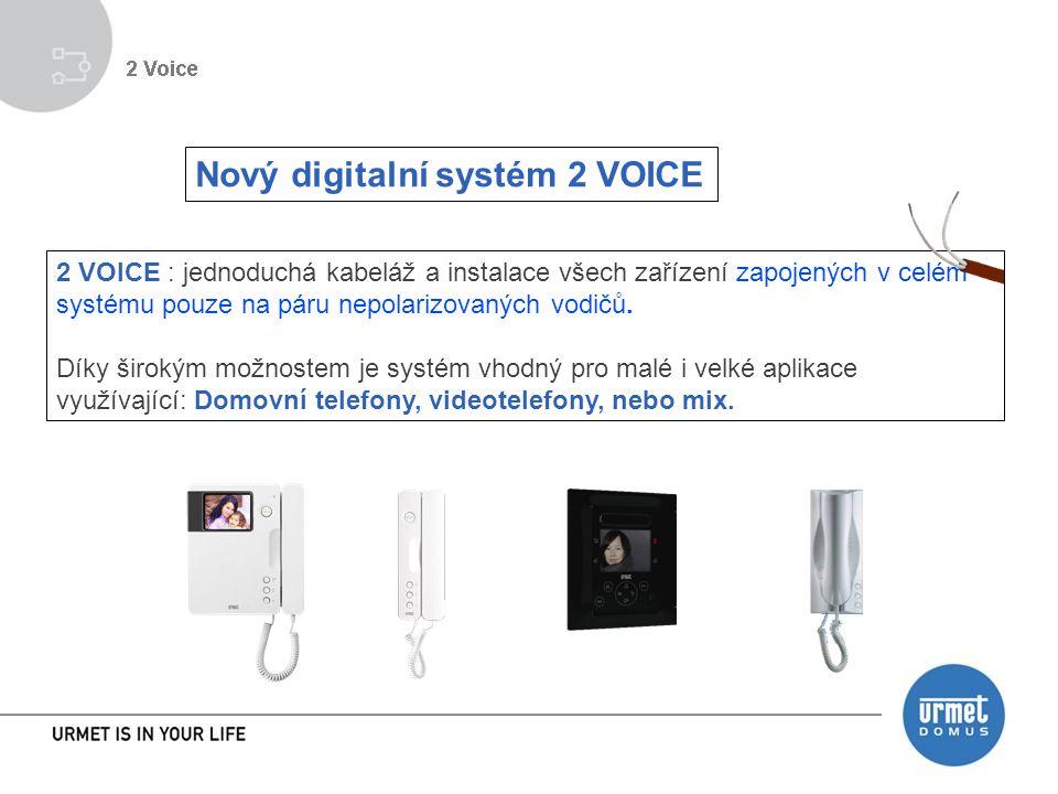 Nový digitalní systém 2 VOICE