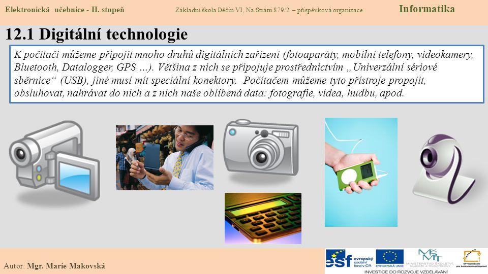 12.1 Digitální technologie