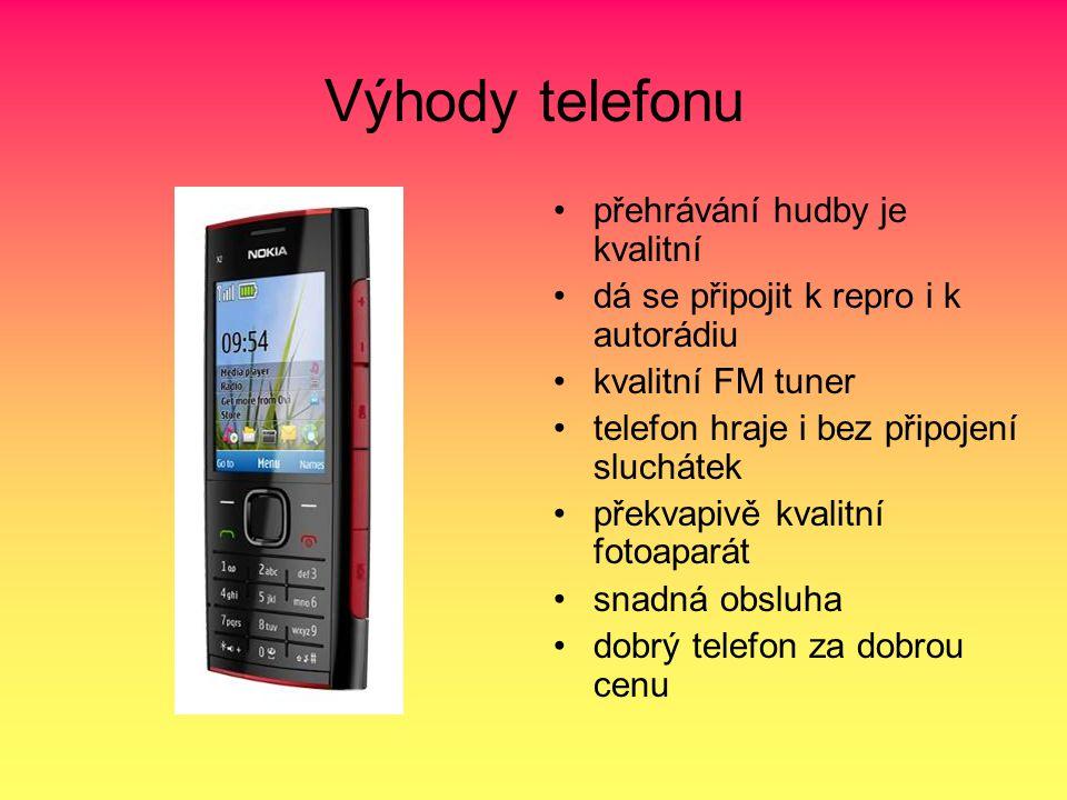 Výhody telefonu přehrávání hudby je kvalitní