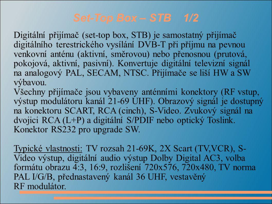 Set-Top Box – STB 1/2