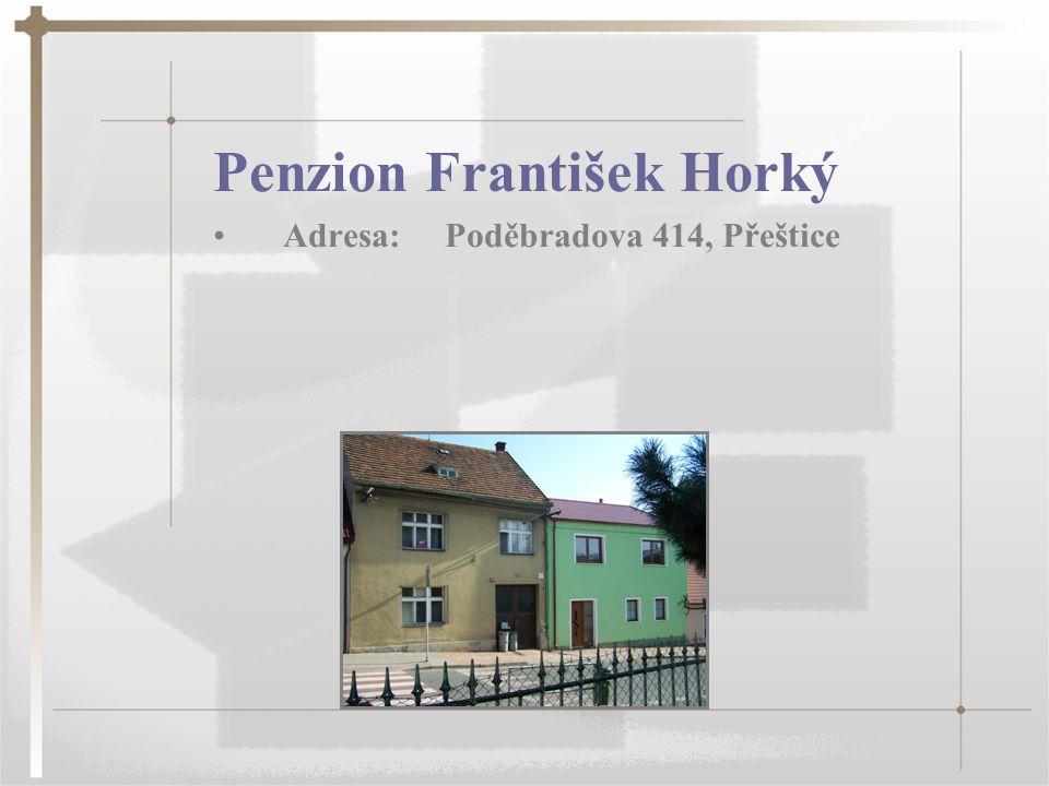 Penzion František Horký